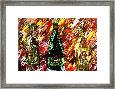 Sensual Explosion  Framed Print by Mark Moore