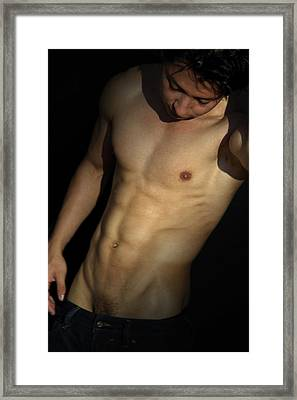 Sensual  Framed Print by Mark Ashkenazi