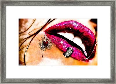 Sensy Classy Framed Print by Jean raphael Fischer