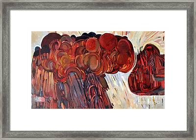 Separation Framed Print by Mohamed Fadul