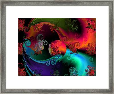 Seperation And Individuation Framed Print by Claude McCoy