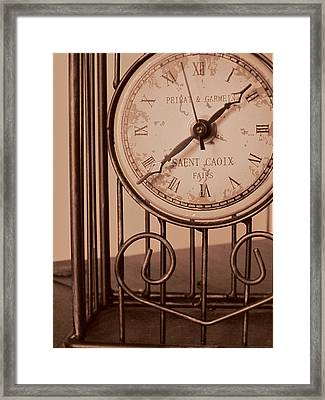 Sepia Time Framed Print by Guy Ricketts