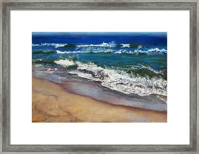 September On Nantucket Framed Print by Cindy Plutnicki