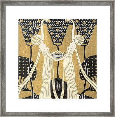 September Framed Print by Wilhelm List
