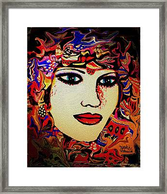 Serena Framed Print by Natalie Holland