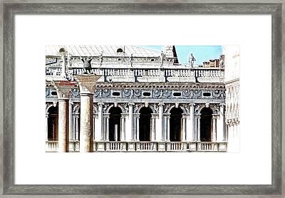 Serenade In Venice Framed Print by Ira Shander