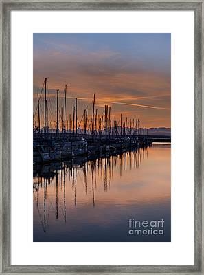 Serene Waters Framed Print by Mike Reid