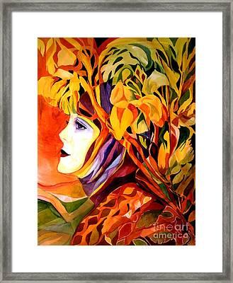 Serenity Framed Print by Carolyn LeGrand