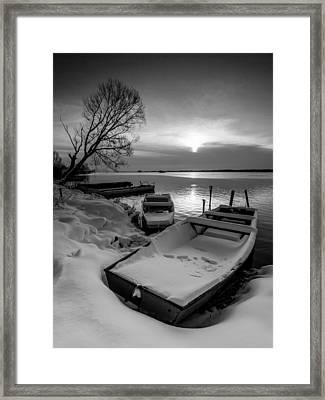 Serenity Framed Print by Davorin Mance