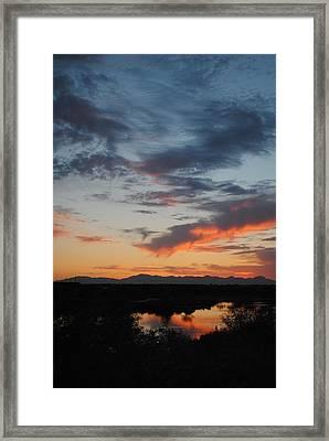 Serenity Framed Print by Edward Curtis