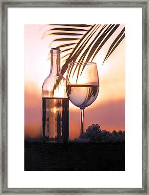 Serenity Framed Print by Jon Neidert