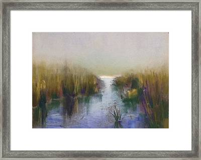 Serenity Framed Print by Judy Albright