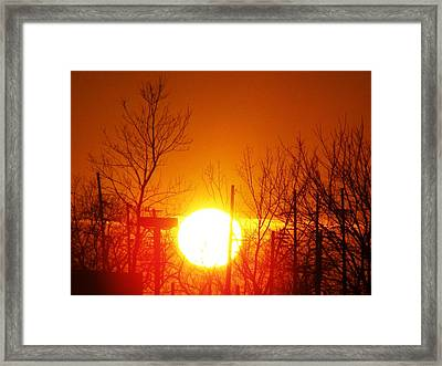 Serenity Framed Print by Arielle Cunnea