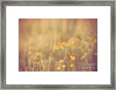 'serenity' Framed Print by Sarah McDowall