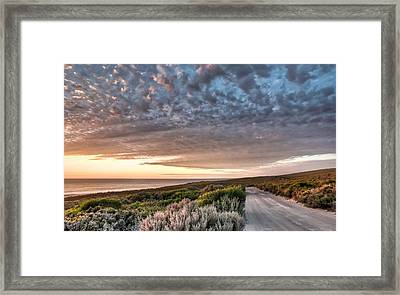 Serenity Framed Print by Shari Mattox