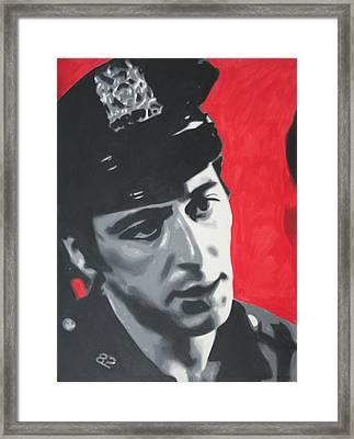Serpico 2013 Framed Print by Luis Ludzska