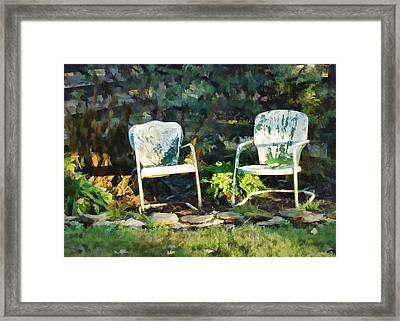Set A Spell Framed Print by Cricket Hackmann