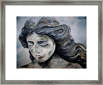 Set In Stone Framed Print by Brenda Owen