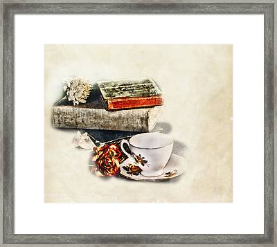Settle In Framed Print by Camille Lopez