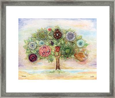 Seven Fruits Framed Print by Michoel Muchnik