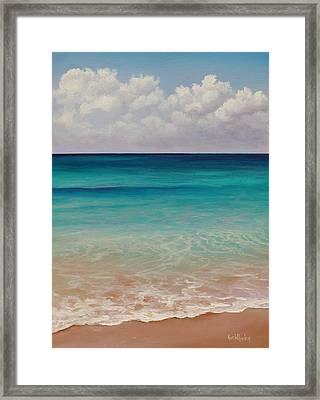 Seven Mile Beach Framed Print by Eve  Wheeler