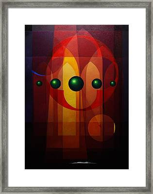Seven Windows - Iv Framed Print by Alberto D-Assumpcao