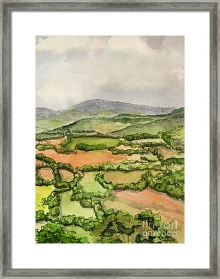 Sewanee Overlook Framed Print by Janet Felts