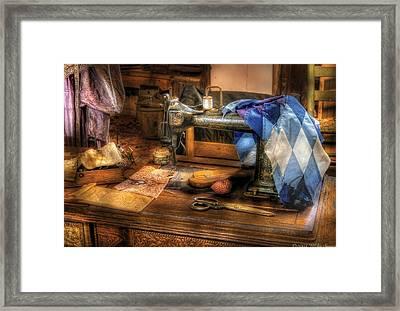 Sewing Machine  - Sewing Machine IIi Framed Print by Mike Savad
