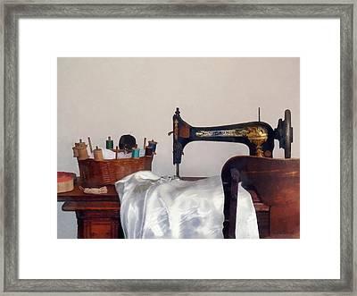 Sewing Room Framed Print by Susan Savad