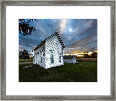 Sexton's House Framed Print by Gary Fossaceca
