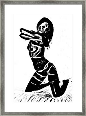 Sexy Death Framed Print by Steve K