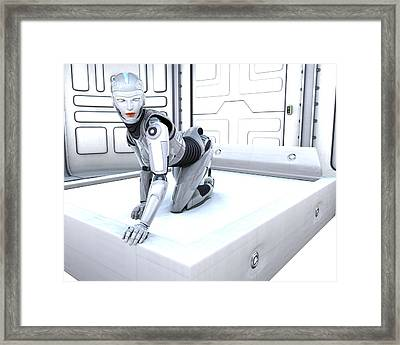 Sexy Machine V1 Framed Print by Frederico Borges