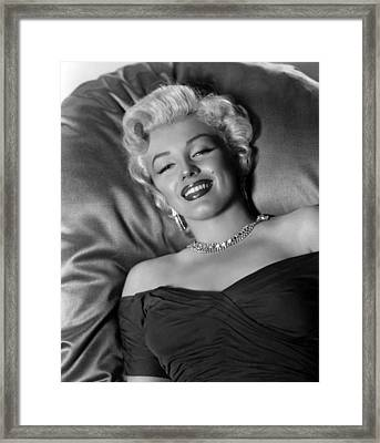 Sexy Marilyn Monroe Framed Print by Retro Images Archive