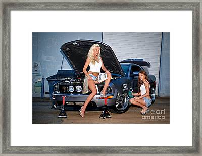 Sexy Mechanics Framed Print by Jt PhotoDesign