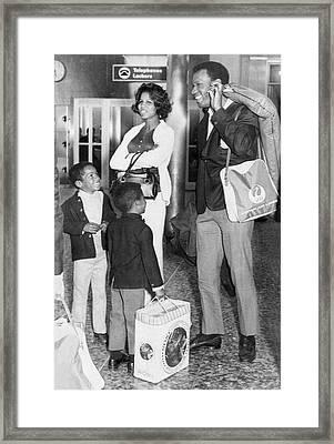Sf Giant Bobby Bonds Framed Print by Underwood Archives