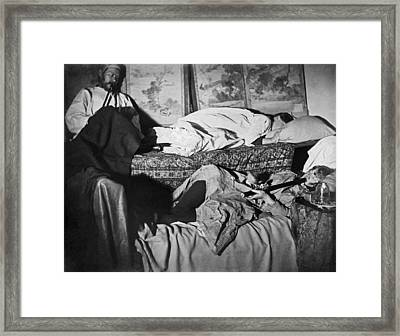 Sf Opium Den Framed Print by Underwood Archives
