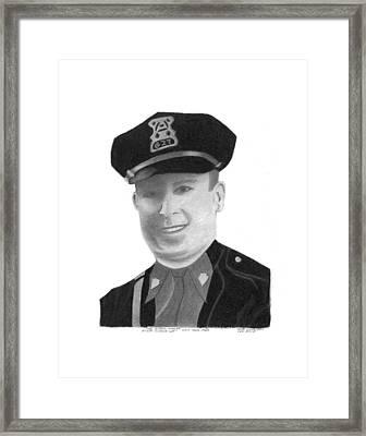 Sgt. Legree Framed Print by Bob and Carol Garrison