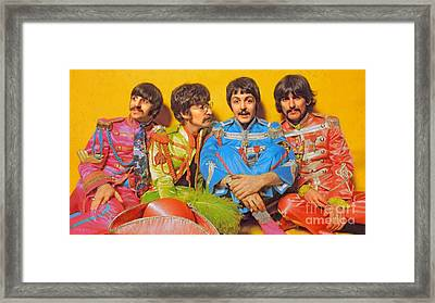 Sgt. Pepper's Lonely Hearts Club Band Framed Print by Stephen Shub