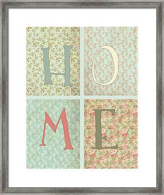 Shabby Chic Home Framed Print by Tara Moss