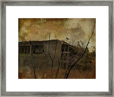 Shack Framed Print by Gothicolors Donna
