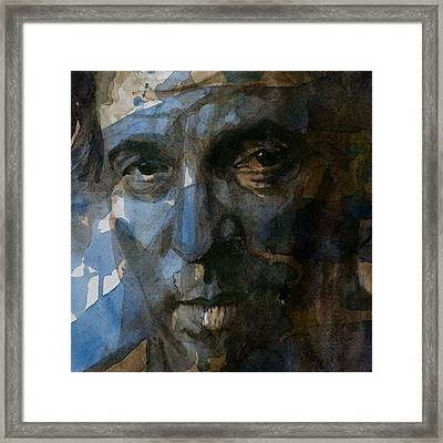 Shackled And Drawn Framed Print by Paul Lovering