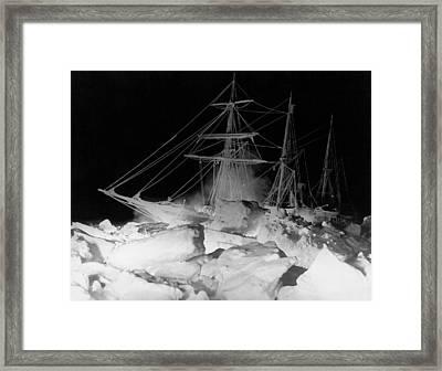 Shackleton's Ship, Endurance Framed Print by Underwood Archives