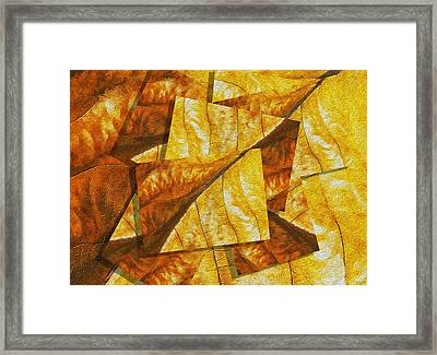 Shades Of Autumn Framed Print by Jack Zulli
