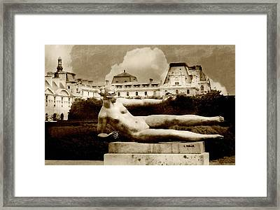 Shades Of Grace Framed Print by Diana Angstadt