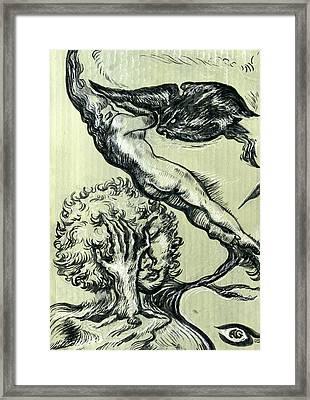 Shades Of Grays One Framed Print by John Ashton Golden