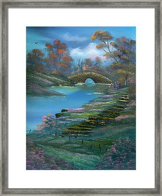 Shades Of The Orient. Framed Print by Cynthia Adams