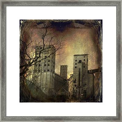 Shades Of Time Framed Print by Gothicolors Donna