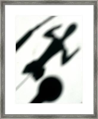 Shadow Art Framed Print by Godfrey McDonnell