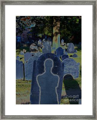 Shadow Grave  Framed Print by First Star Art