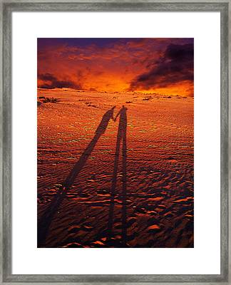 Shadow  Framed Print by Gray  Artus